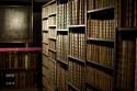 Zicht op kast met boeken