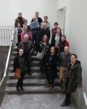 Collegagroepleden op bezoek bij KBR