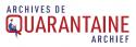 Logo Archives de Quarantaine Archief