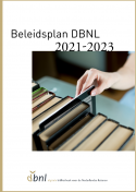 Cover beleidsplan DBNL