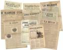 Diverse historische kranten uit heel België