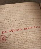 Gedigitaliseerd collegedictaat uit de Magister Dixit-collectie - Foto: (c) Diete