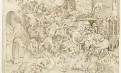 'Val van de magiër Hermogenes', Bruegel, 1564 (Rijksmuseum, RP-T-00-559)