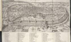 Gezicht op Leuven in de vroege zeventiende eeuw