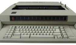 Elektrische typemachine