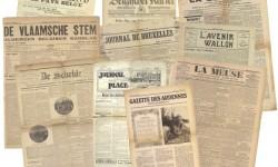Voorbeelden van Belgische historische kranten