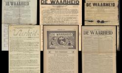 Voorpagina's kranten De Waarheid