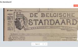 Nieuws van de Groote Oorlog: De Belgische standaard