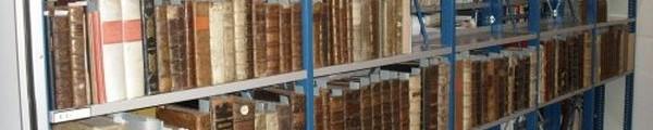 Magazijn oude drukken Stadsarchief Turnhout