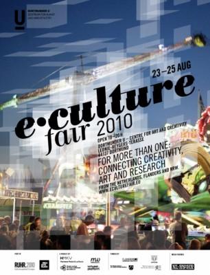 Affiche e-Culture Fair 2010