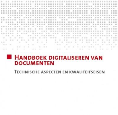 Voorpagina Handboek documenten digitaliseren FARO