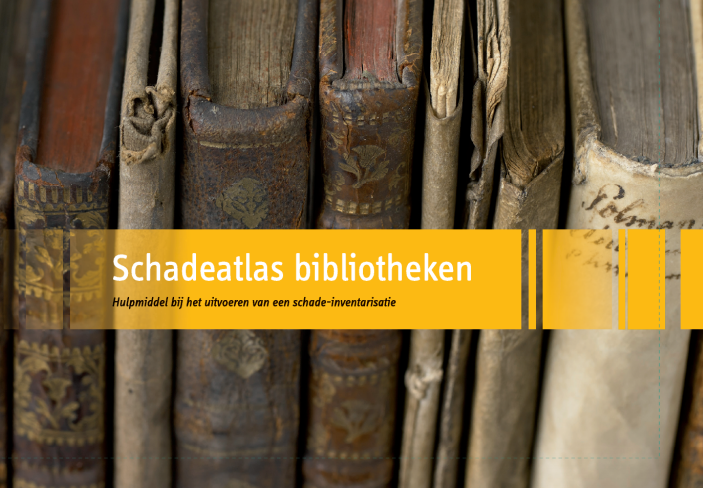 Voorpagina van de Schadeatlas bibliotheken