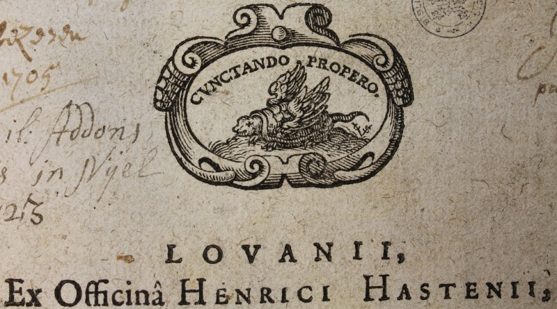 drukkersmerk Hendrick van Hastens